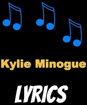 Kylie Minogue Lyrics poster