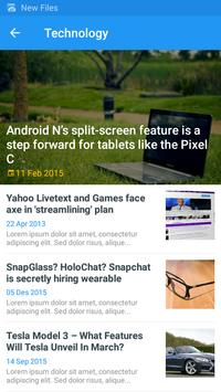News (Unreleased) apk screenshot