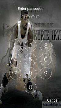 Keypad lock screen for Kyrie Irving screenshot 3