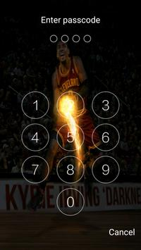 Keypad lock screen for Kyrie Irving screenshot 5