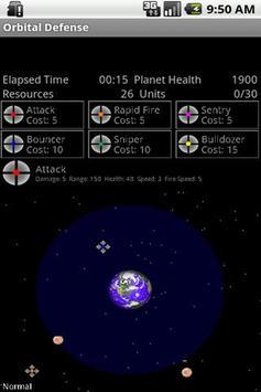 Orbital Defense poster
