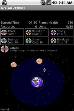 Orbital Defense apk screenshot