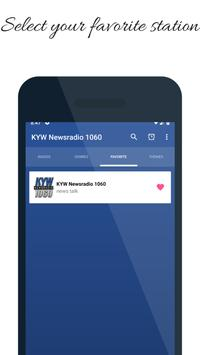 KYW Newsradio 1060 Philadelphia AM Radio Station screenshot 1