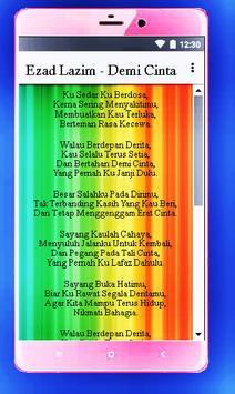 Top 30 Lagu Malaysia (Lyrics) screenshot 2