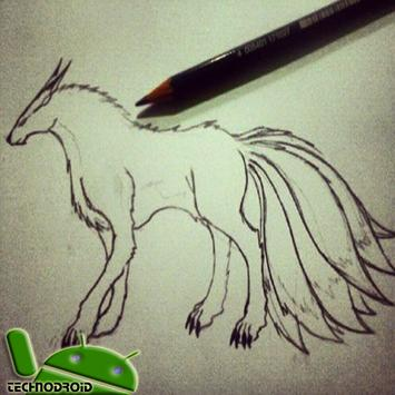 Best Sketch How To Draw Kyuubi for Android - APK Download
