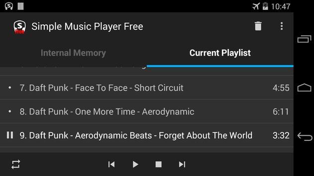Simple Music Player Free screenshot 3