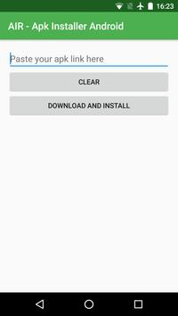 AIR - Apk Installer Android poster