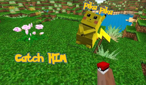 Pokecraft : pixelmon GO Mode screenshot 1