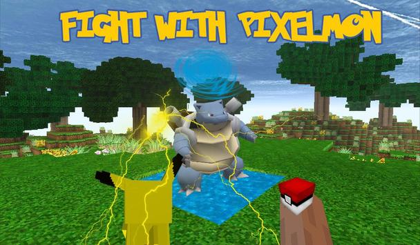 Pokecraft : pixelmon GO Mode screenshot 2