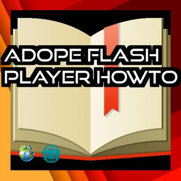 Adope Flash Player Howto apk screenshot