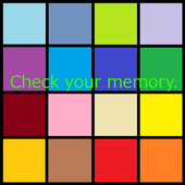 Check your memory icon