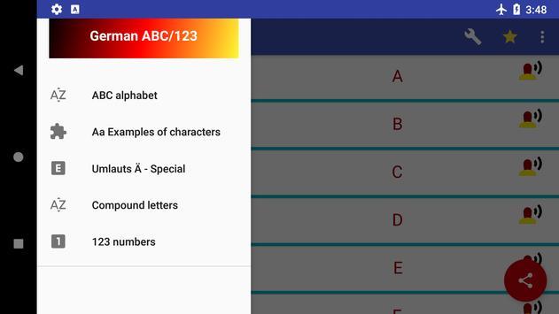 ABC & 123 - German alphabet and numbers screenshot 10