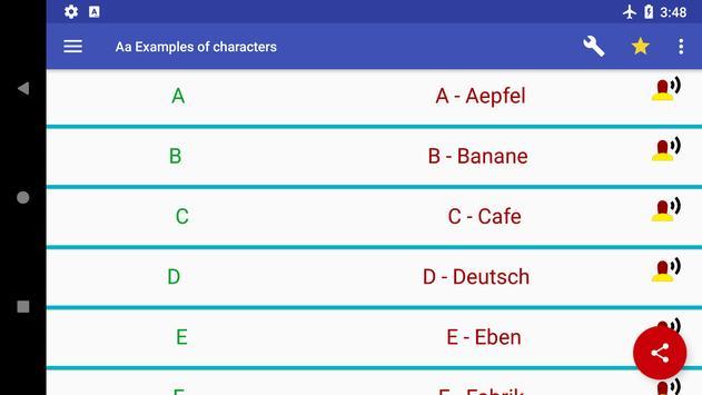 ABC & 123 - German alphabet and numbers screenshot 11
