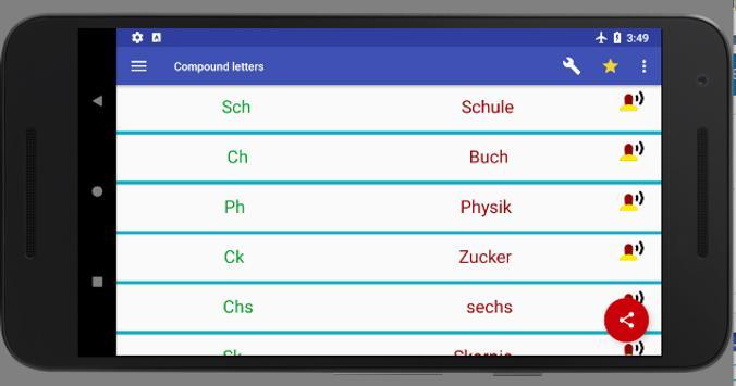 ABC & 123 - German alphabet and numbers screenshot 12