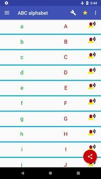 ABC & 123 - German alphabet and numbers screenshot 2