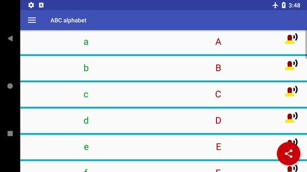 ABC & 123 - German alphabet and numbers screenshot 9