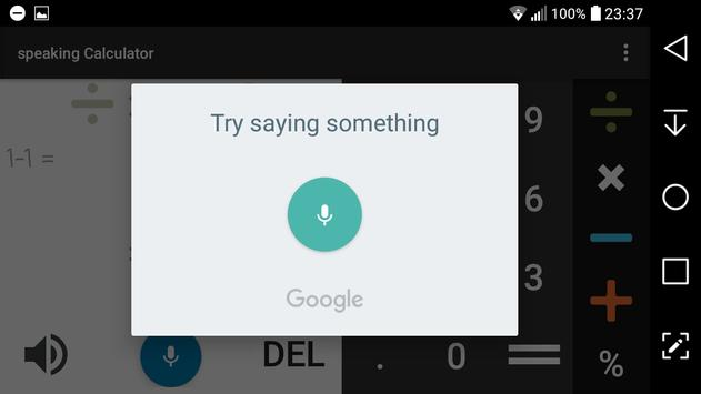 Talking calculator screenshot 5