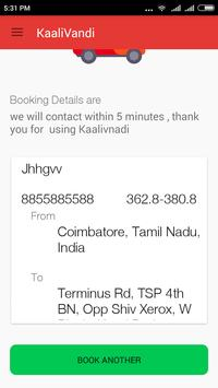 KaaliVandi apk screenshot