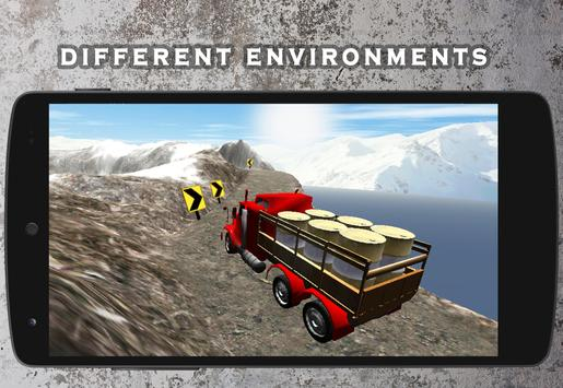Truck Driver Cargo poster