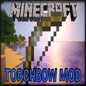 Torch Bow Mod for MCPE icon