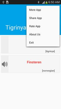 Tigrinya Norwegian Dictionary screenshot 3