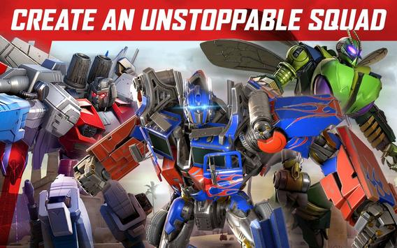 TRANSFORMERS: Forged to Fight apk screenshot