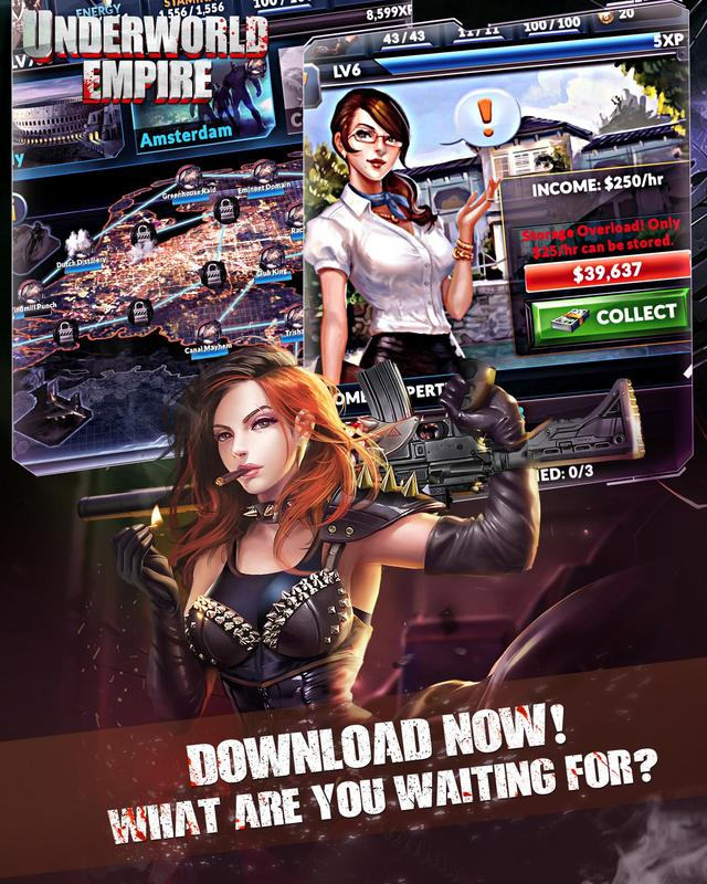 Underworld Empire APK Download - Gratis RPG PERMAINAN ...