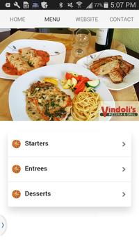 Vindoli's Pizzeria & Grill apk screenshot