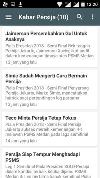 KABAR PERSIJA JAKARTA screenshot 4