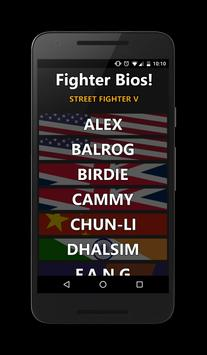 Fighter Bios: Street Fighter V poster