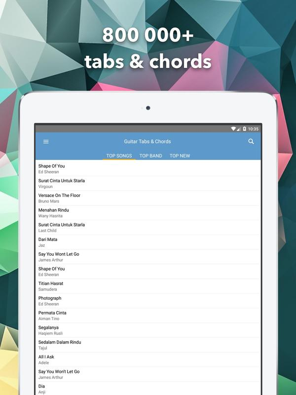 Guitar Tabs And Chords Apk Download Free Music Audio App For
