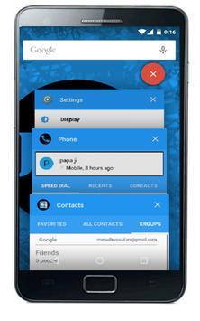 Jolly Blue CM12 screenshot 3
