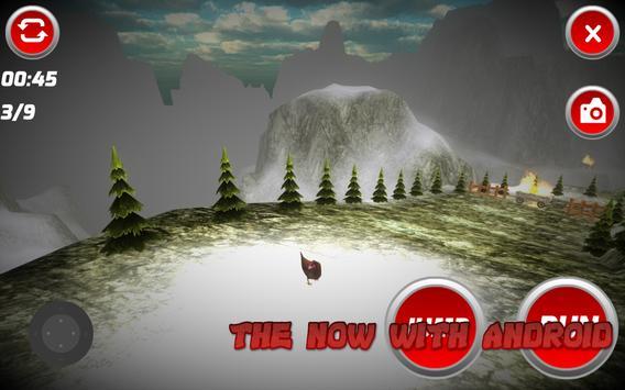 3D Chicken Run apk screenshot