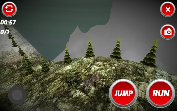 Forest Wolf 3D apk screenshot