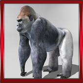 Gorilla 3D Simulator icon
