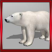 Polar Bear 3D icon