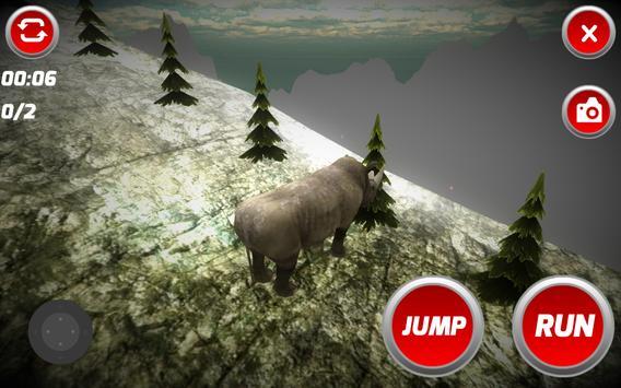 Wild Rhinoceros Simulator poster