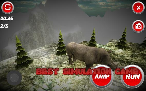 Wild Rhinoceros Simulator apk screenshot