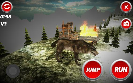 The Wolf Simulator apk screenshot