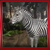 Zebra 3D Simulation icon
