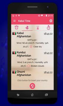 Kabul Time apk screenshot