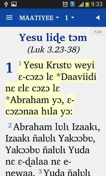 Kabiye Nouveau Testament poster