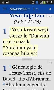 Kabiye Nouveau Testament screenshot 1