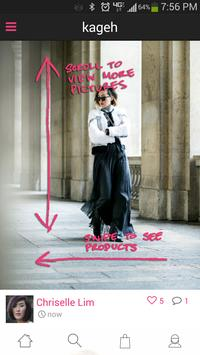 Kageh: Find Fashion Anywhere poster