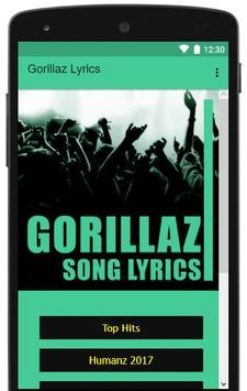 Gorillaz Lyrics Full Albums apk screenshot