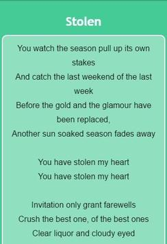 Dashboard confessional lyrics apk download free entertainment app dashboard confessional lyrics apk screenshot stopboris Image collections