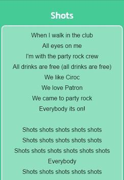 LMFAO Lyrics apk screenshot