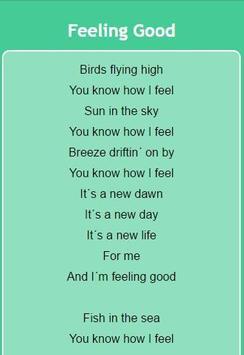 Michael Buble Lyrics apk screenshot