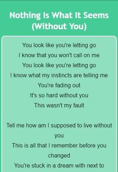 Saosin Lyrics apk screenshot