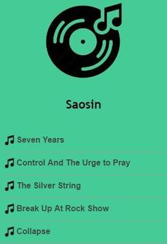 Saosin Lyrics poster